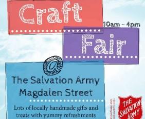 Salvation Army Craft Fair