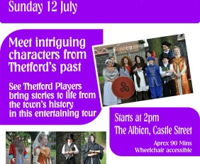 Thetford Players Historical Character Walk