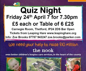 Quiz Night in aid of EACH Nook Appeal