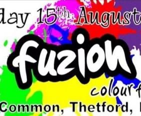 Fuzion Colourfest Thetford