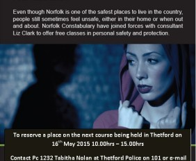 Norfolk Police Personal Safety Course