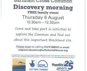 Suffolk Wildlife Trust Discovery Morning