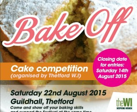 Thetford's Great Bake Off