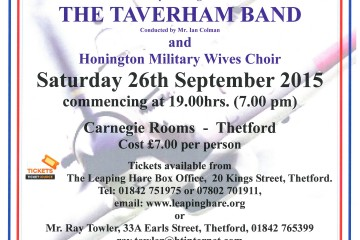 75th Anniversary Battle of Britain Wings Band Concert