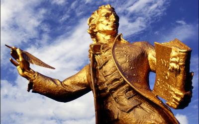 Thomas Paine Statue Thetford