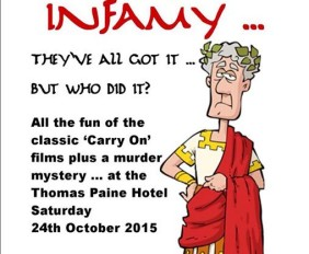Carry On Infamy Murder Mystery