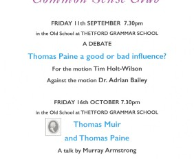Common Sense Club Talk
