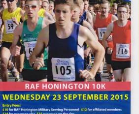 RAF Honington 10k Road Race