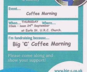 Big 'C' Coffee Morning