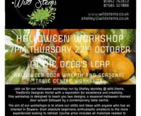 Wild Stems Halloween Workshop