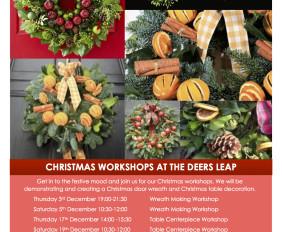 Christmas Wreth Workshop with Wild Stems